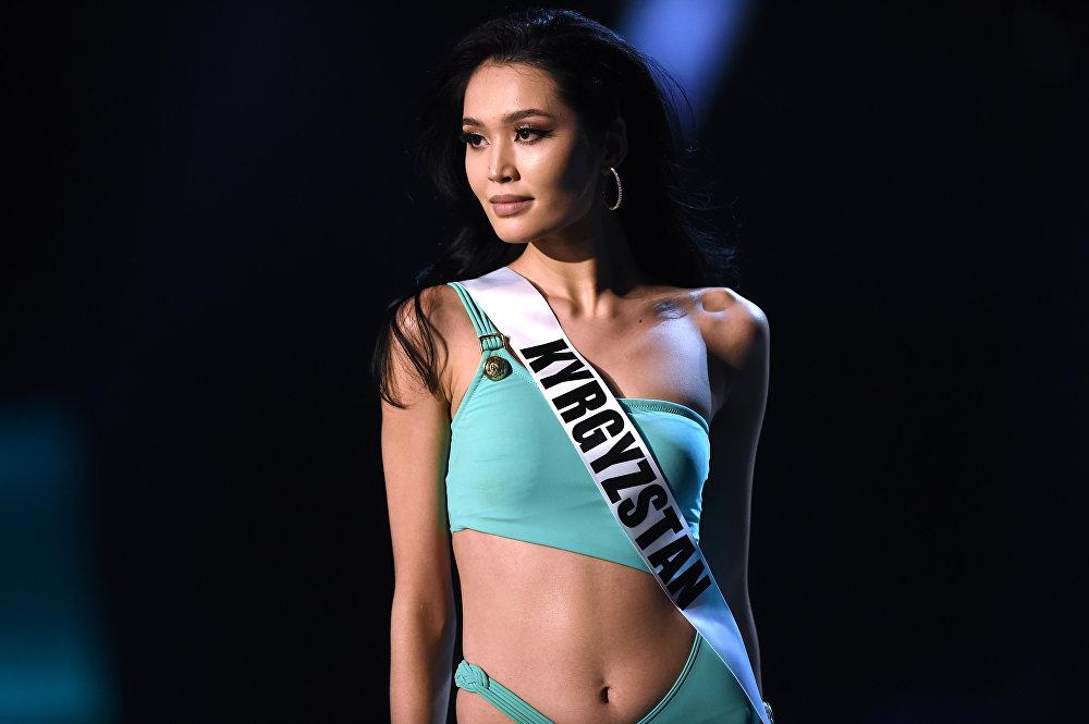 Участие кыргызстанки Бегимай Карыбековой на конкурсе Мисс Вселенная — 2018