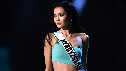 Бегимай Карыбекова из Кыргызстана участвует в соревнованиях по бикини во время конкурса Мисс Вселенная 2018 года в Бангкоке. 13 декабря 2018 года