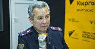 ИИМдин Жол кыймылынын коопсуздугун камсыздоо башкы башкармалыгынын ага тескөөчүсү Ахмед Нурманбетов