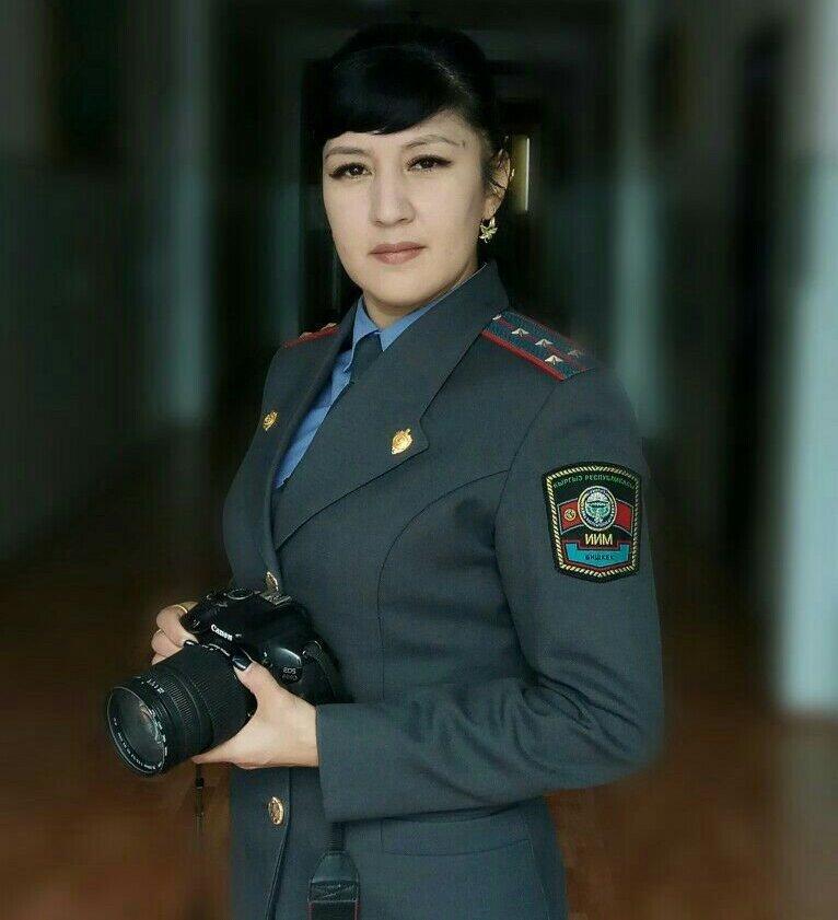 Сотрудник пресс-службы УВД Ошской области Жанна Сатарбаева