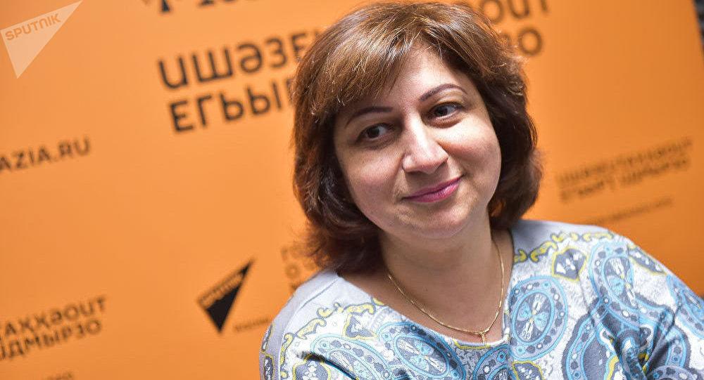 Психолог Анжела Ладария. Архивное фото