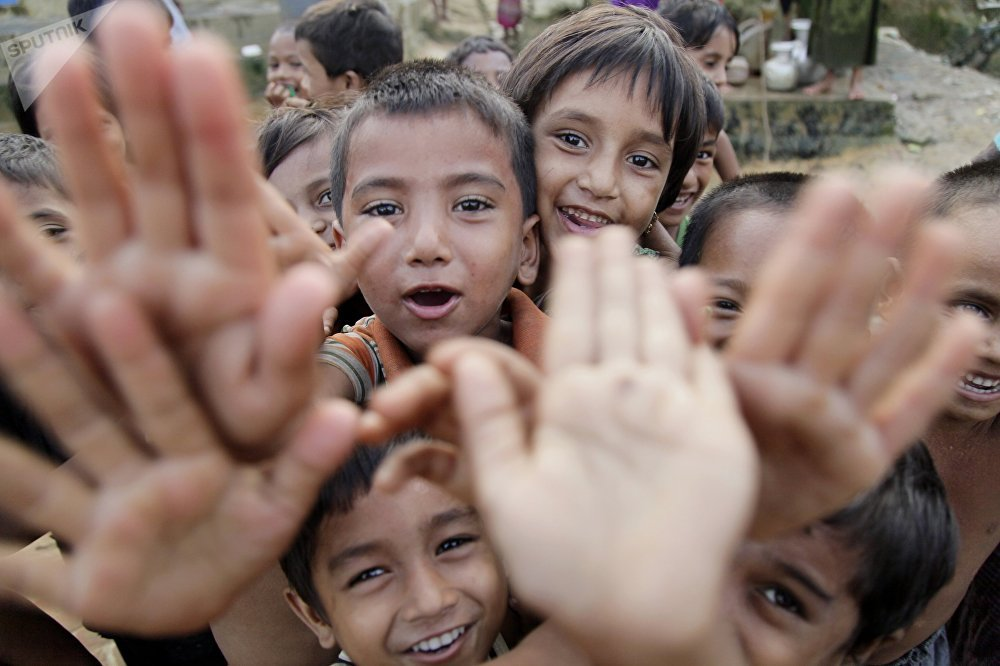 Бангладештин Кокс-Базар шаарынын жанындагы качкын рохинжалар баш калкалаган Балакули лагери