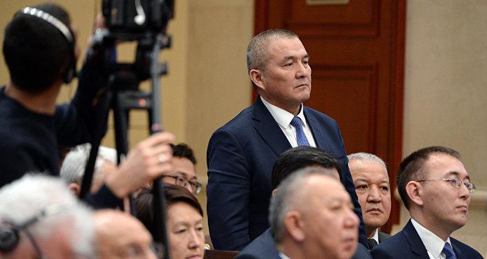 Бывший министр транспорта и дорог Жамшитбек Калилов. Архив