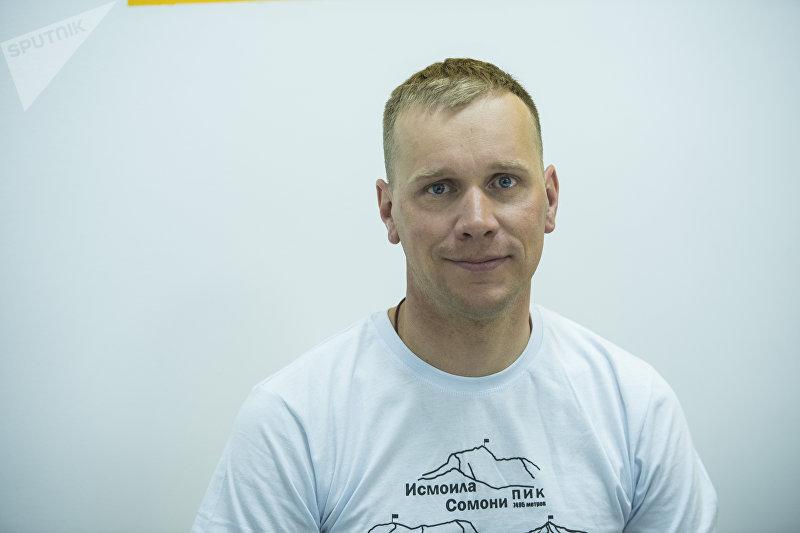 Альпинист Михаил Даничкин