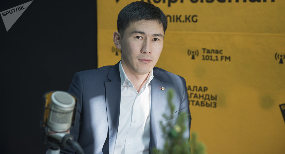 Специалист кредитного отдела одного из финансово-кредитных учреждений страны Бексултан Орозбаев. Архивное фото