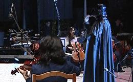 Потрясающе! Как кыргызстанский оркестр исполняет Имперский марш — видео