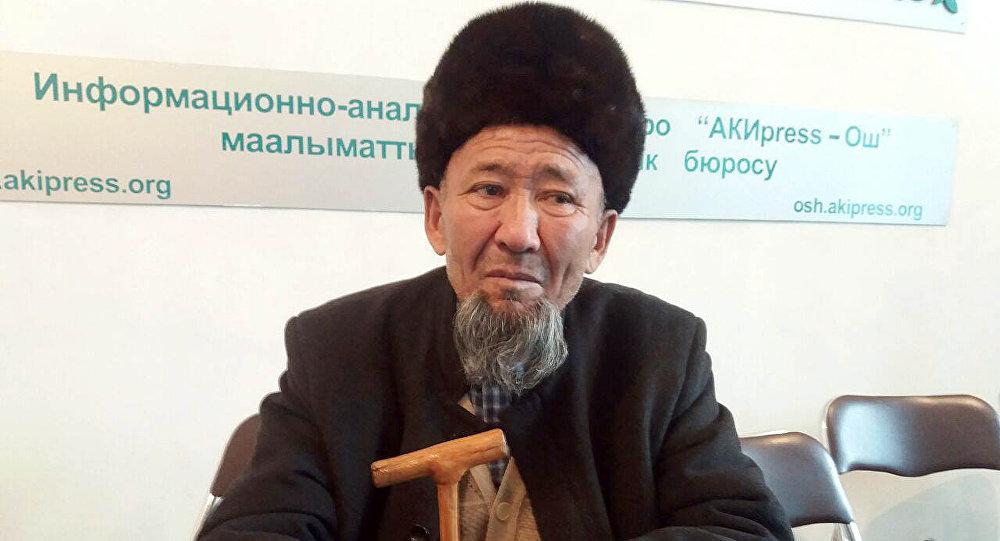 Родственник убитого главы надзорного органа Баткенской области Анарбая Мамажакыпова Абдылда Темирбердиев