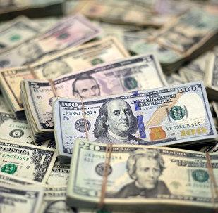 Банкноты доллары США. Архивное фото