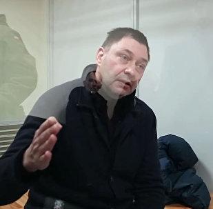 Журналист Вышинский рассказал, в чем его обвиняют на Украине. Видео