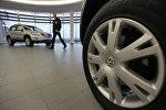 Volkswagen автоунаасы. Архивдик сүрөт