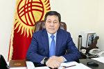 Транспорт жана жолдор министринин орун басары Жеңишбек Ногойбаев
