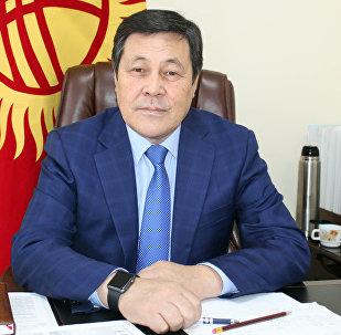 Заместитель министра транспорта и дорог КР Женишбек Ногойбаев. Архивное фото