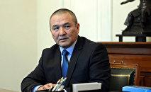 Кызматынан бошотулган транспорт жана жолдор министри Жамшитбек Калиловдун архивдик сүрөтү