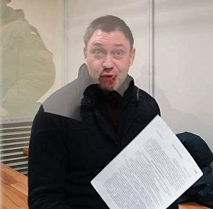 Вышинский о работе журналиста и свободе слова на Украине. Видео