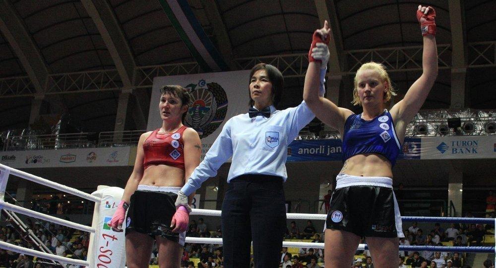 Кыргызстанский боец UFC, чемпион мира в наилегчайшем весе Валентина Шевченко