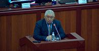 Как депутат просил Атамбаева и Жээнбекова помириться — видео