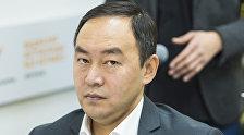 Бишкек шаардык мэриясынын транспорт бөлүмүнүн башчысы Кубанычбек Жусупов