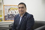 Кыргыз көмүр мамлекеттик ишканасынын коммерциялык директору Замирбек Кутубаев