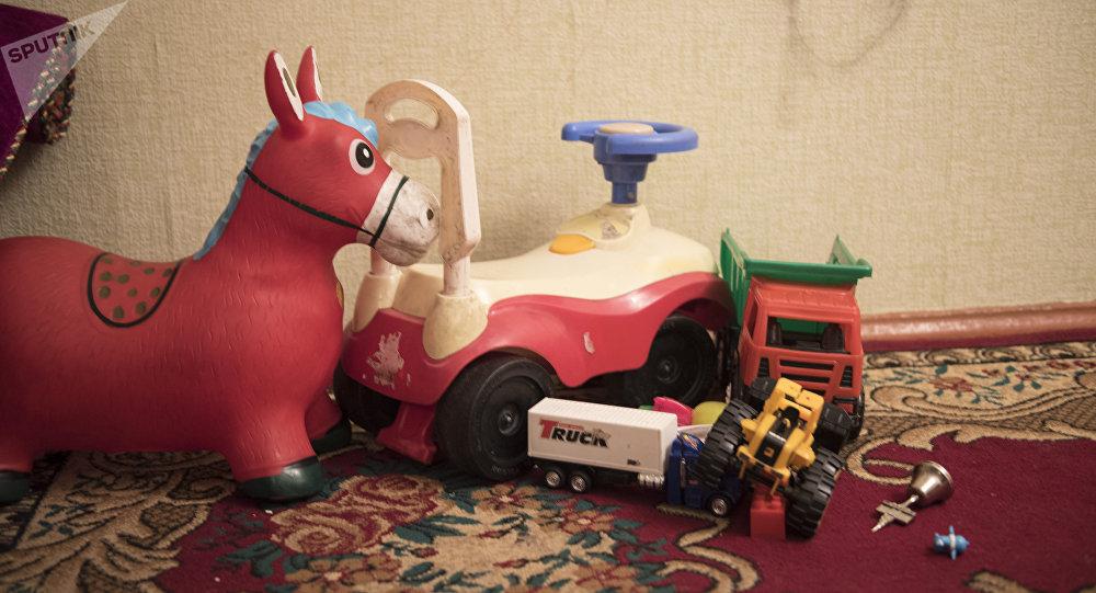 Детские игрушки. Архивное фото