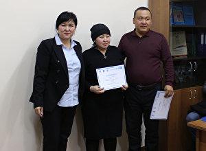 Потенциальные приемные семьи (фостерные семьи), прошедшие успешное обучение в текущем году получили сертификаты. 19 декабря, 2018 года