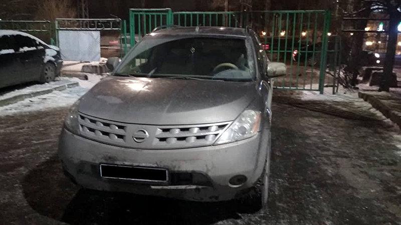 Автомобиль Nissan Murano на котором был совершен наезд на 8-летнего мальчика 18 декабря у столичной школы № 70.