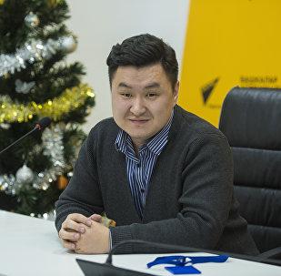 Спортивный обозреватель информагентства Sputnik Кыргызстан Азамат Аралбаев