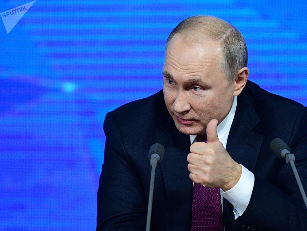 Россия президенти Владимир Путиндин жыл сайын өтчү ири маалымат жыйынына 1 702 журналист катышты