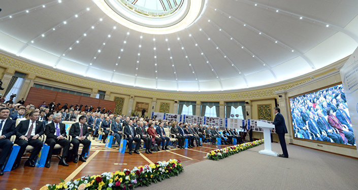 Научно-практическая конференция, посвященной 80-летию парламента КР