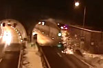 Водитель повторил трюк из Форсажа, попав в необычное ДТП. Видео из Словакии