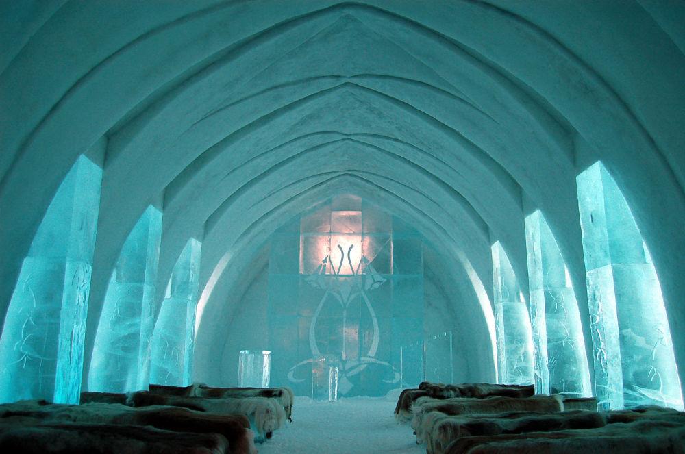 …а второй — Icehotel