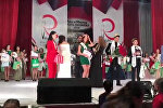 В Бишкеке выбрали самых красивых студентку и мужчину Кыргызстана. Видео