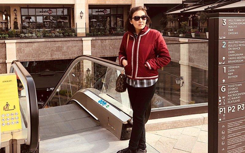 Руководитель отдела экспорта в пищевой фирме в Турции Сирень Келдибек кызы