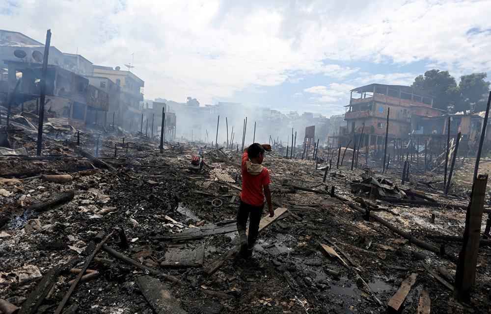 Бразилиянын Манаус шаарындагы өрт 600 үйдү жалмап кетти