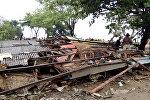 Индонезияда болгон цунаминин кесепети