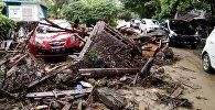 Индонезиядагы цунаминин кесепети. Архивдик сүрөт