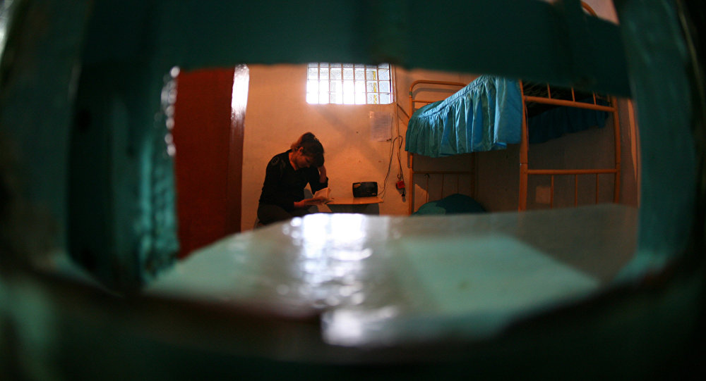 Заключенная. Архивное фото