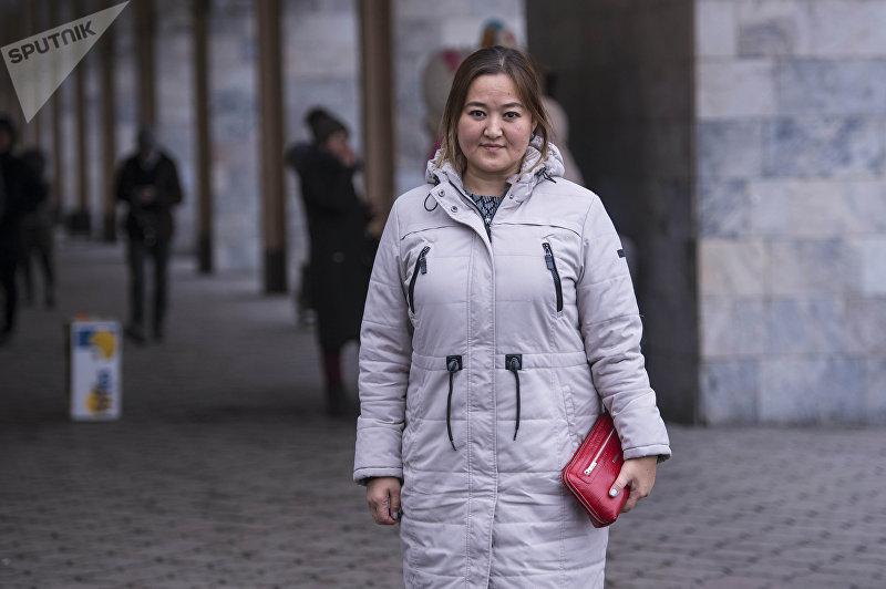 Адвокат Жанара Аскар кызы во время фотосета