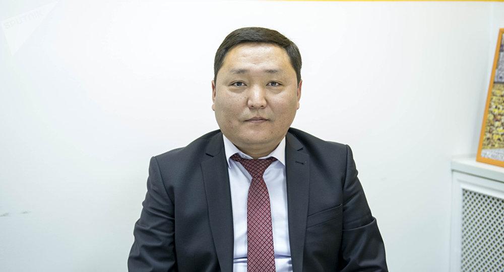 Октябрь районунун акими Ренат Айтымбетов