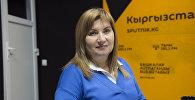 Директор школы миротворчества и медиа технологий в Центральной Азии Инга Сикорская. Архивное фото