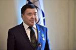 Президент футбольного клуба Дордой Аскар Салымбеков. Архивное фото