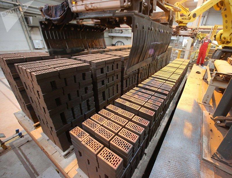 Завод по производству кирпича в Калининградской области