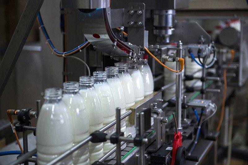 Молочный комбинат в Омске