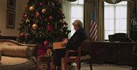 Трамп с оливье или Новогоднее вмешательство RT в дела США — шуточное видео