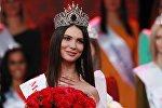 Победительница конкурса красоты Мисс Москва 2018 Алеся Семеренко в концертном зале «Vegas City Hall».