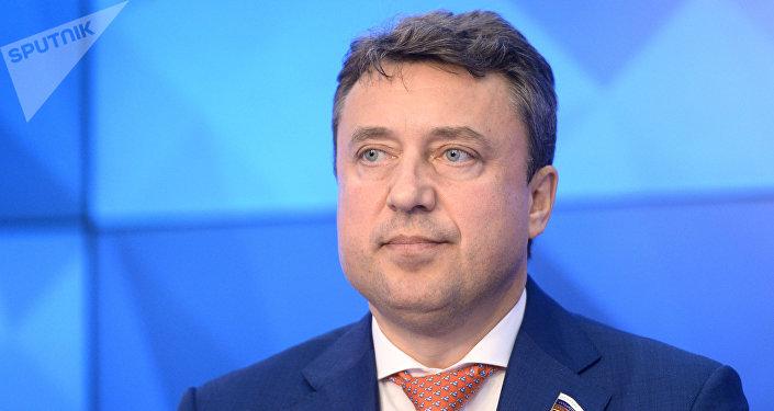 Председатель постоянной комиссии ПА ОДКБ по вопросам обороны и безопасности, депутат Госдумы РФ Анатолий Выборный