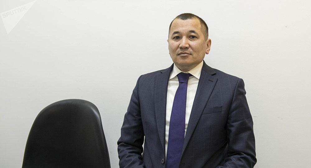 КРдин өкмөтүнө караштуу Монополияга каршы жөнгө салуу мамлекеттик агенттигинин директорунун орун басары Кеңешбай Тайлаков