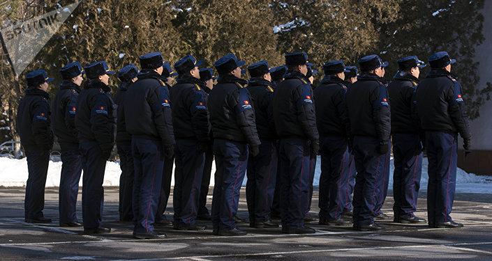 Сотрудники туристической милиции. Архивное фото
