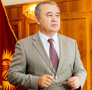 Экс-депутат Омурбек Текебаев. Архивное фото