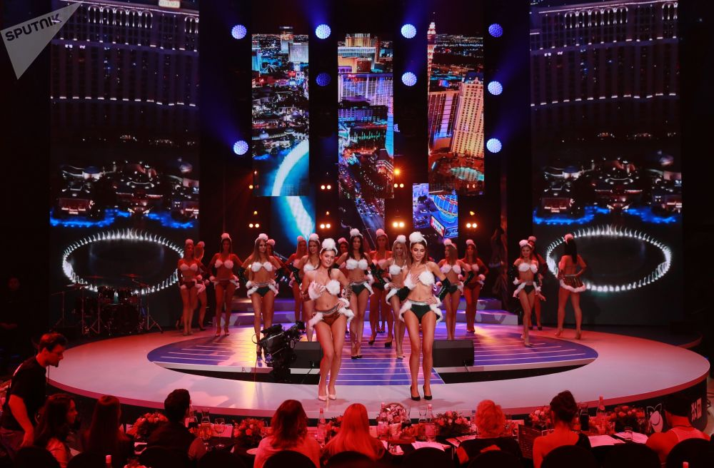 Финал прошел в концертном зале Vegas City Hall