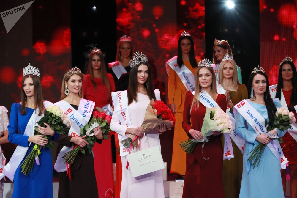 Финал конкурса красоты Мисс Москва — 2018